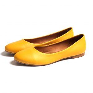 בלרינת עור צהוב